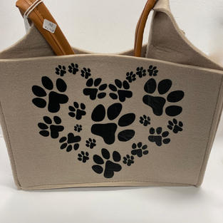 Paw Heart - Doggie Tote