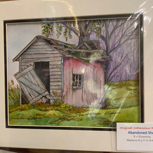 Abandoned Shed - Original Watercolour - (11x14)