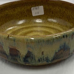 Pottery Bowl #111 - SIDE VIEW