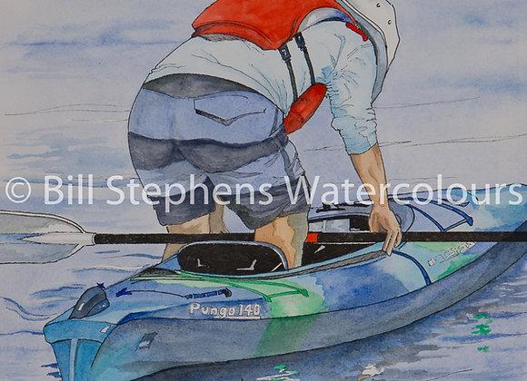 Original Watercolour Painting - Morning on Whitestone Lake