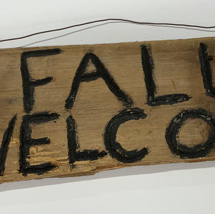 Fall Welcome Hanging Sign