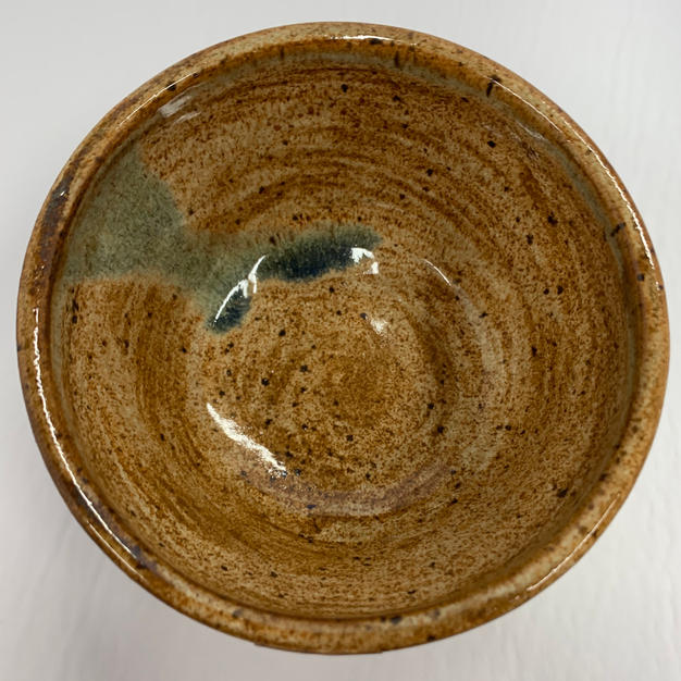 Pottery Bowl - 118 - TOP VIEW
