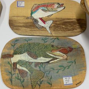 Fish Plaques