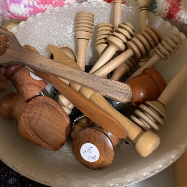 Spoons & Honey Sticks