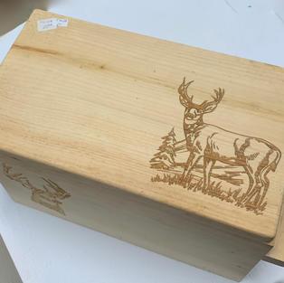 Close Up - Laser Engraved Box (Buck)