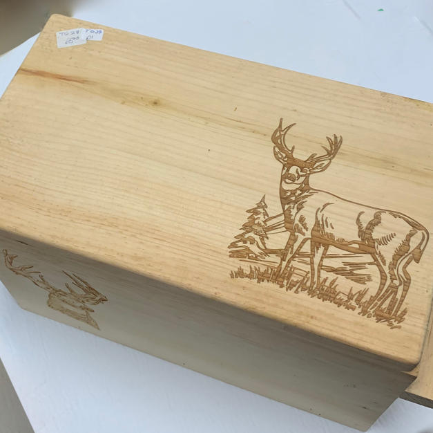 Close Up - Laser Engraved Box (Buck)