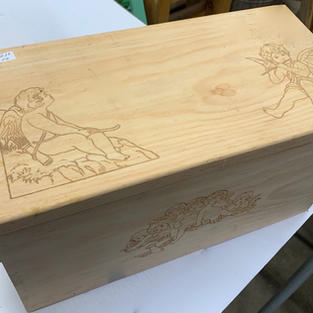Cherubs - Laser Engraved Box