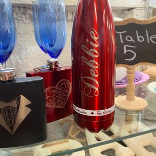 Laser Engraved Bottles