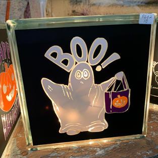 Glass Light - Halloween Style