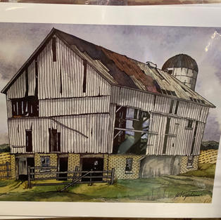 Perth County Barn Print - (11x14)