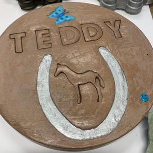 Personalized Memorial Stone (Horse)