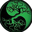 TreePeaceSignInvertedGreenBlack.png