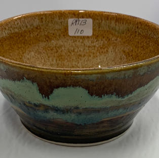 Pottery Bowl #110 - SIDE VIEW
