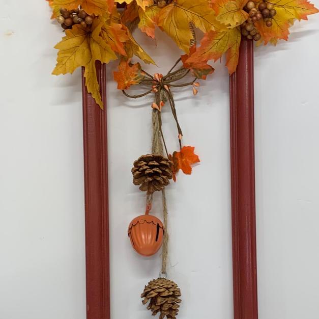 Fall Arrangement on Frame