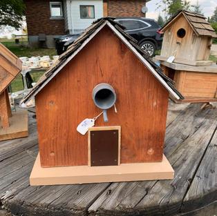 Large Bird House - 11 x 12 x 13