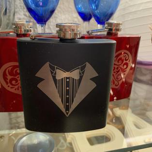 Laser Engraved Flasks