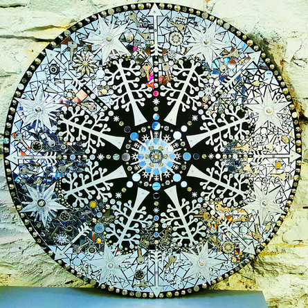 Drift (Snowflake Mandala)