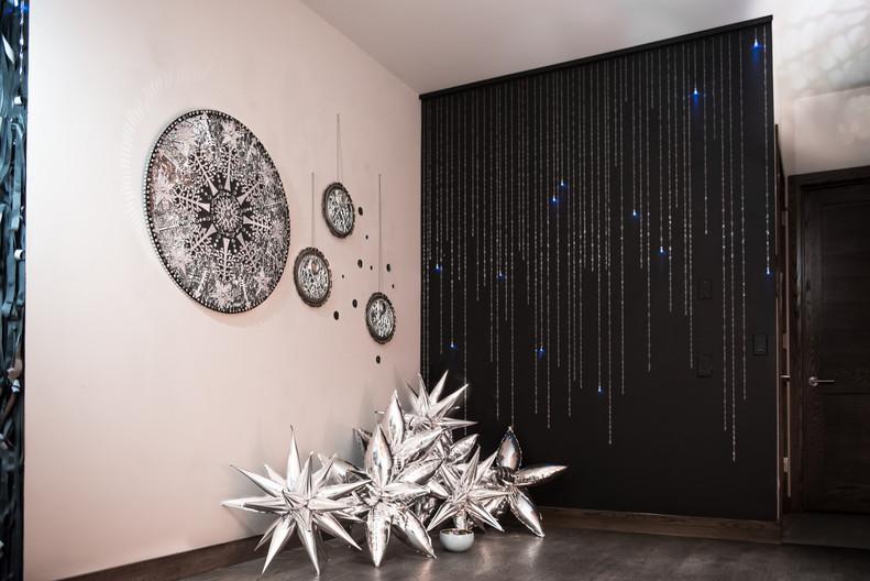 Be Unbroken Installation Star Wall