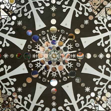 Drift (Snowflake Mandala) Detail