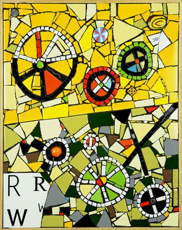 Mosaic The Wheelie War (Strategic Planni