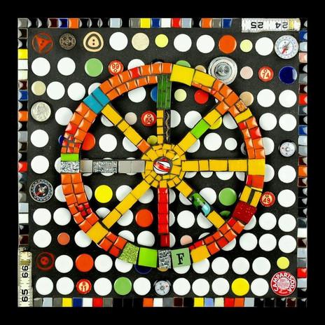 Mosaic Big Wheel