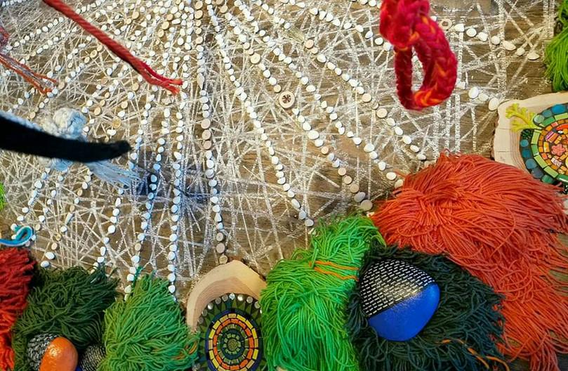 Be Unbroken Installation Mandala Detail