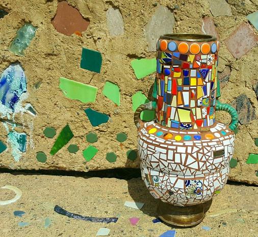 Mosaic The Urn
