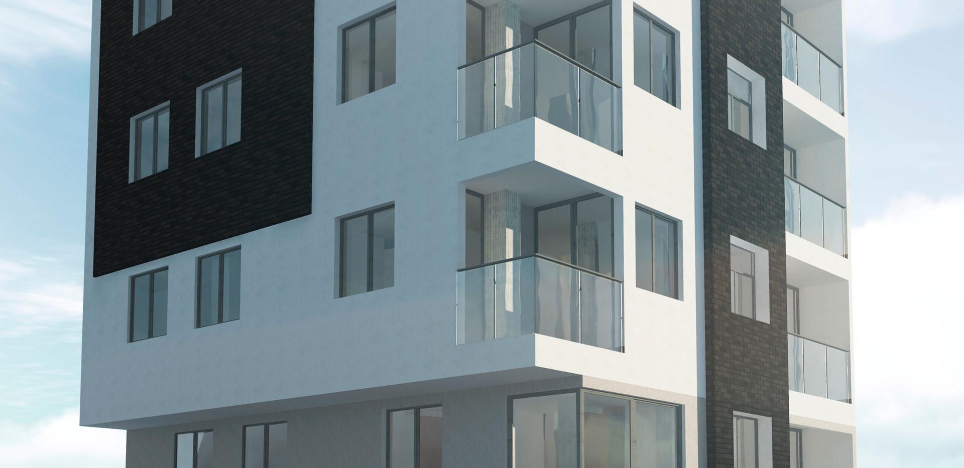 Render edificio de vivienda -ANDES- ANTIOQUIA