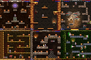 Screenshots. Eternum. Retro arcade & old school.