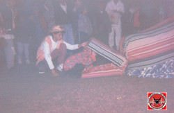 Apresentação na igreja 1995