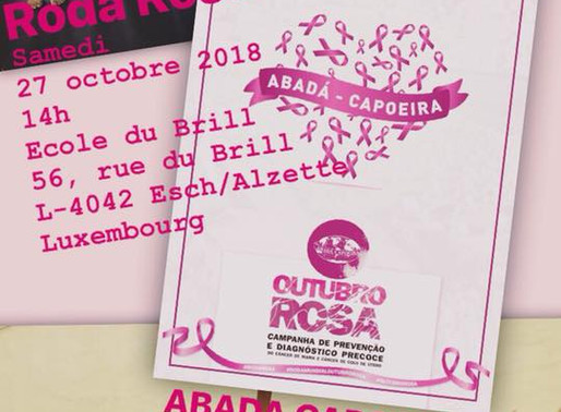 Roda rose le 27 octobre 2018