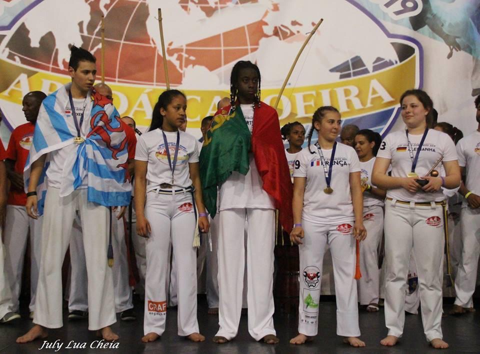 Jeux européens 2019 de la capoeira