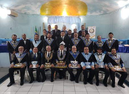 ENCONTRO DE GRÃO MESTRES DAS GRANDES LOJAS DE ALAGOAS E PERNAMBUCO NO ORIENTE DE BARREIROS PE