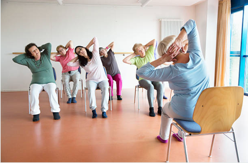 Remote Senior Seated Yoga Class
