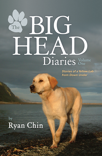 The Big Head Diaries Signed Paperback