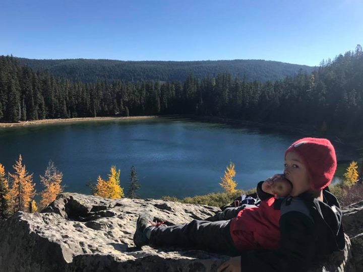 Jaxen's First Backpacking Trip