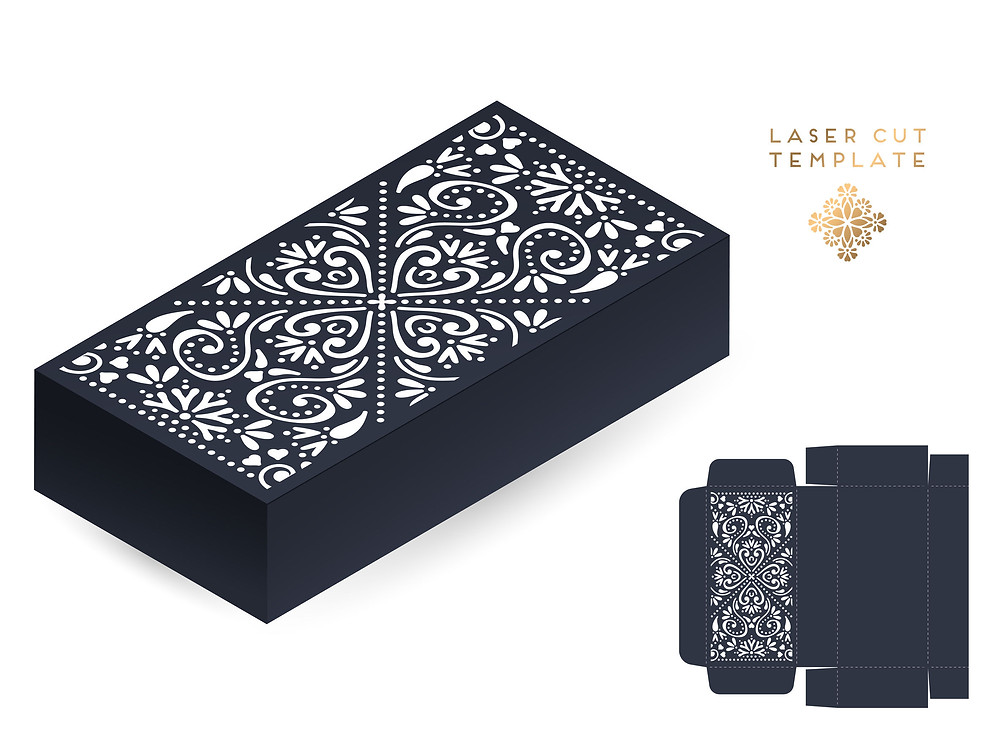 laser cut template for laser engraving fabric