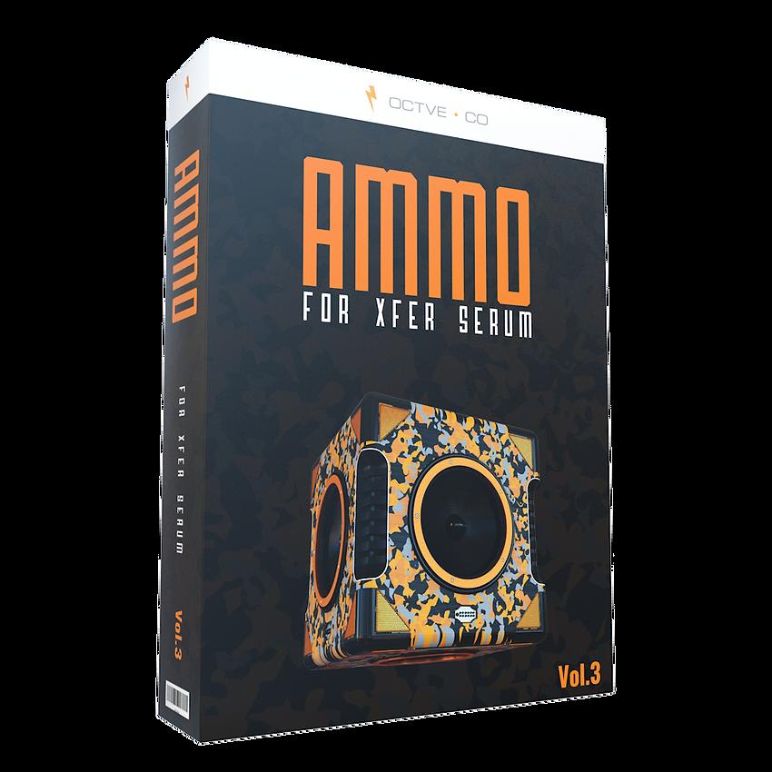 OCTVE.CO - Ammo for Xfer Serum Vol. 3 TR