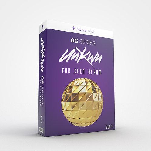 OG Series: UNKWN for Xfer Serum Vol. 1