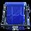 Soporte, placa aislante de poliamida 6, flanje con cuatro pernos de canastillo o capacho alzahombre ormet CES 1VE