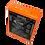 Contactos de batería BA225030 HBC Radiomatic de color anaranjado