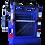 Puerta o ingreso de Canastillo o Capacho Alzahombre de Fibra de Vidrio, marca Ormet, modelo CES 1VE, color Azul PM