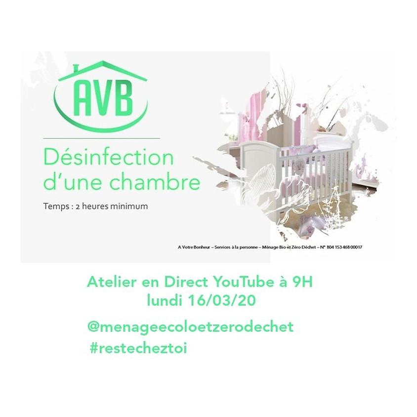 """Désinfection """"Chambre"""""""