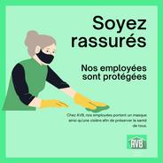 Informations COVID-19 Femmes de Ménage