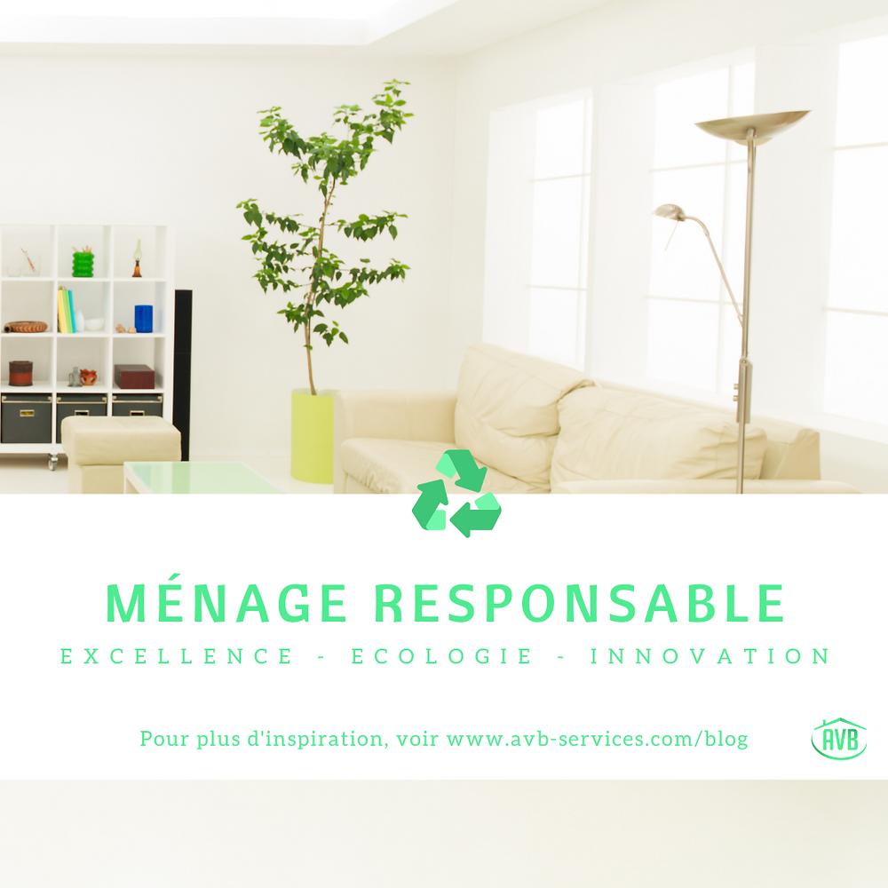 AVB Ménage Responsable vous offre un service d'excellence avec des produits naturels.