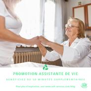 Promotion : Assistante de vie