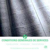 Conditions Générales de Services