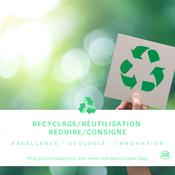 Recyclage/Réutilisation, Réduire/Consigne