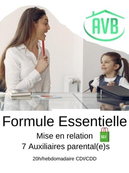 Formule Essentielle | +20h/H CDC ou CDI
