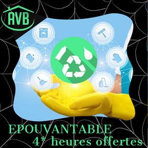 EPOUVANTABLE 4H OFFERTES